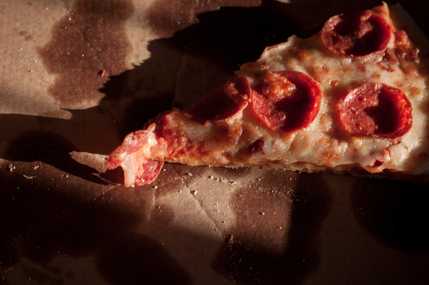 Landscape of a Pizza Slice